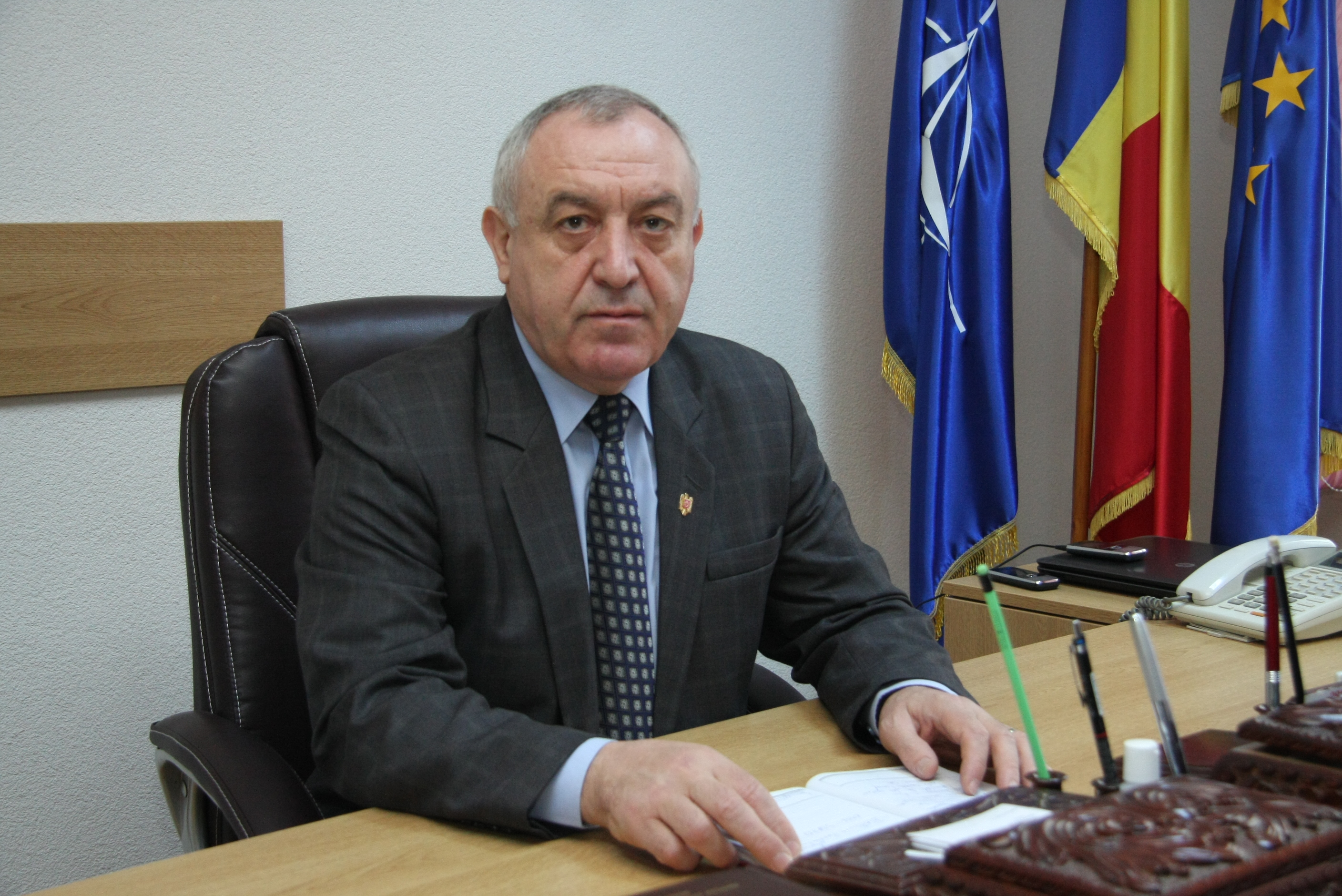 Colonel (r) Ion Pop - Director General SC URBIS SA Baia Mare